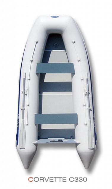 Надувная лодка Grand Marine CORVETTE C330 с жестким дном и надувным килем