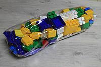 Детский конструктор Юни-блок, 108 элементов, пластик Украина