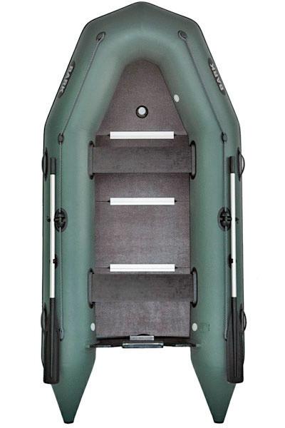 Надувная лодка Барк BT-360S с жестким дном и надувным кильсоном