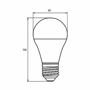 "EUROLAMP LED Лампа ЕКО серія ""D"" А65 20W E27 4000K (50), фото 2"