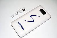 Внешний аккумулятор Power Bank Samsung 30000 mAh, Usb кабель, фонарик, LCD дисплей, 2 х USB, +micro USB