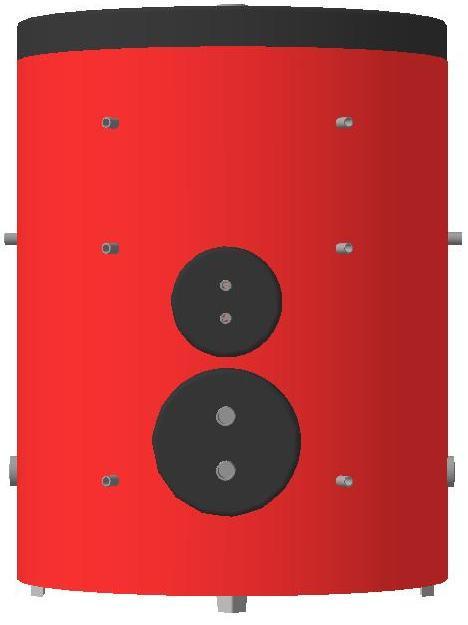 Бойлер косвенного нагрева BBT-004-1500 KHT