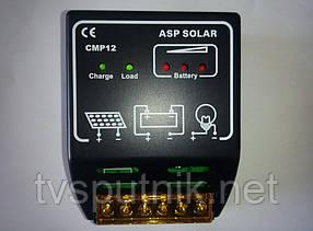 PWM контроллер заряда АБ CMP12 (20А 12В/24В)