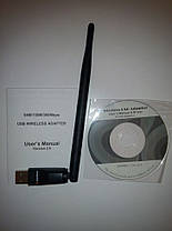 Wi-Fi адаптер Alphabox с антенкой (5dBi), фото 2