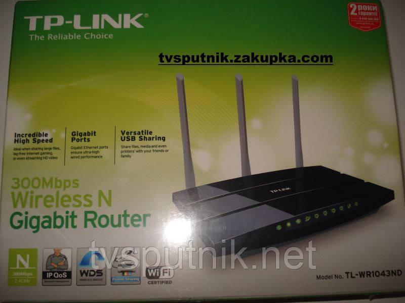 Wi-Fi Роутер TP-Link 1043ND