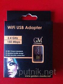 WiFi адаптер GM Power Wi-Fi USB