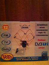 Автомобильная Телевизионная/Радио антенна Crown (DVB-T2)