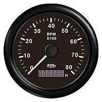 KUS BB Тахометр/счетчик моточасов для лодочного мотора 0-8000RPM