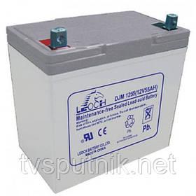 Аккумулятор LEOCH DJM1255 (55A*ч 12В)