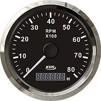 KUS BS Тахометр/счетчик моточасов для лодочного мотора 0-8000RPM