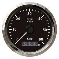 KUS BS Тахометр/счетчик моточасов для лодочного мотора 0-6000RPM