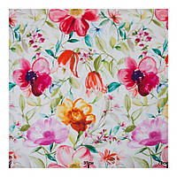 Ткань акварельные цветы