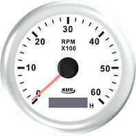 KUS WW Тахометр/счетчик моточасов для лодочного мотора 0-6000RPM