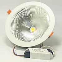 Врезной потолочный светодиодный 30W COB точечный светильник ALVA ED-030