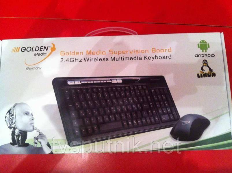 Бездротова клавіатура Golden Media ( 2,4 ГГц)