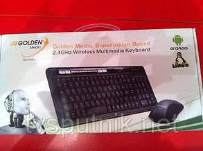 Бездротова клавіатура Golden Media ( 2,4 ГГц), фото 2