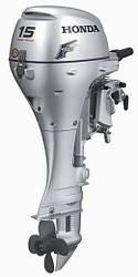 Лодочный мотор Honda BF 15 DK2 SHU. С ЭЛЕКТРОСТАРТЕРОМ!