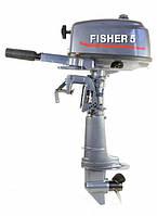 Лодочный мотор Fisher 5 2-х тактный