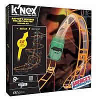 K'NEX моторизованная дорога американские горки Raptor's Revenge Roller Coaster Building Set