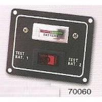 Панель на 1 переключатель и уровень заряда батареи Тайвань 70060-12.
