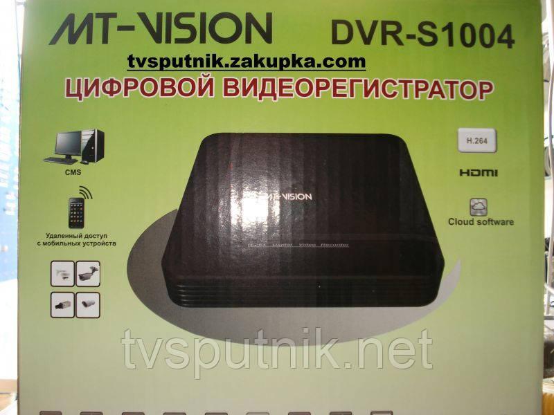 Видеорегистратор DVR MT-Vision 1004S