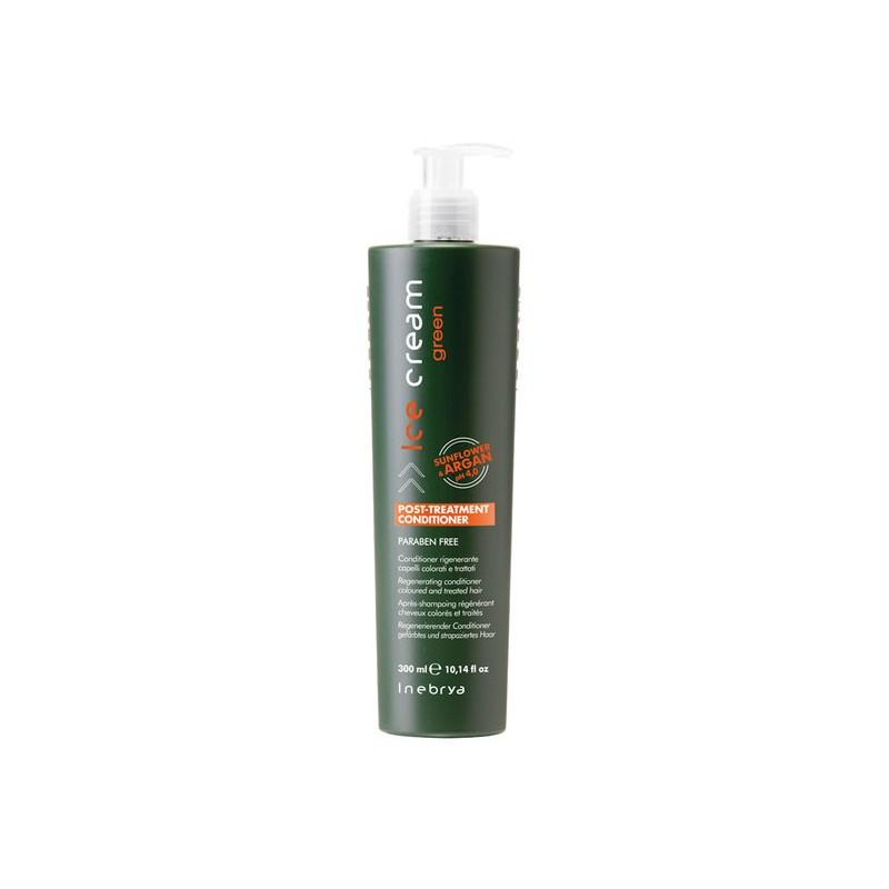 Inebrya Green Post -Treatment Регенерирующий шампунь для окрашенных волос 300 мл.