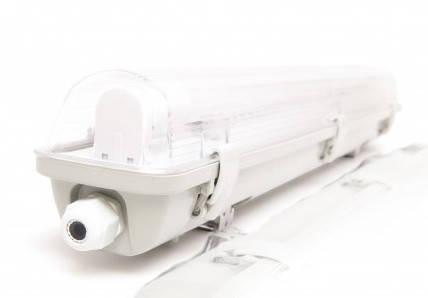 Комплект - светильник + 1 LED лампа 600 мм 9W 4000К пылевлагозащищенный IP65