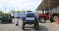 Мототрактор Булат Т120Люкс с дополнительным распредедел.,фрезой(12 л.с.,ременной,колеса 5х12