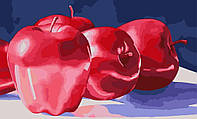 Картина по номерам Идейка Алые яблоки (KH2026) 40 х 50 см