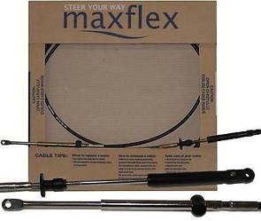 Трос газ/реверс 8FT Evinrude MAXFLEX 2.42м PRETECH Корея.