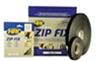 Стрічка-застібка ZIP FIX (гачок) 20mm x 25m, чорна, двостороння