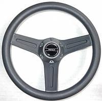 Рулевое колесо PRETECH 32см серое.