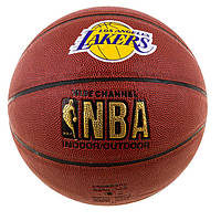 Мяч баскетбол Spalding NBA Lakers номер 7