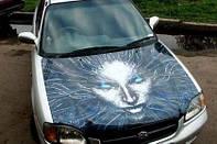 Як клеїти вінілову плівку на авто?