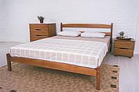 Недорогая деревянная кровать Лика стандарт