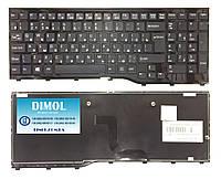 Оригинальная клавиатура для Fujitsu-Siemens LifeBook AH552 series, ru, black