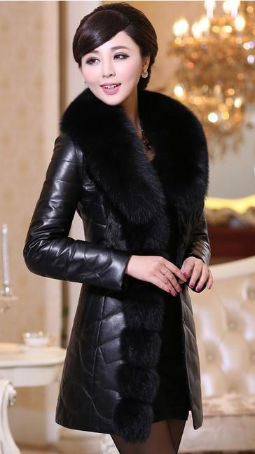 Женский модный зимний пуховик. Модель 1013