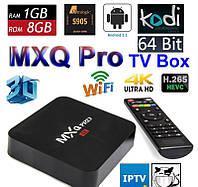 Медиаплеер Android TV Box MXQ Pro 4K