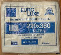 Пакет майка euroluxe 22*38 белый