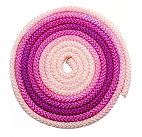 Скакалка Pastorelli Patrasso Multicolor 3м нейлон 02079 цикламен-розовый