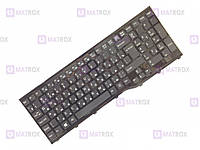 Оригинальная клавиатура для ноутбука Fujitsu-Siemens LifeBook AH552 series, rus, black