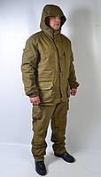 Утепленный армейский камуфляжный костюм Горка - зима