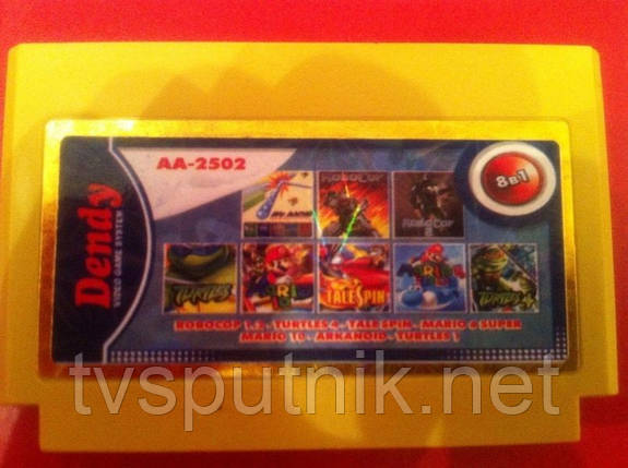 Картридж Dendy Сборник игр AA-2502, фото 2