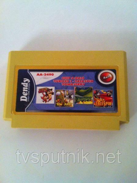Картридж Dendy Сборник игр AA-2490