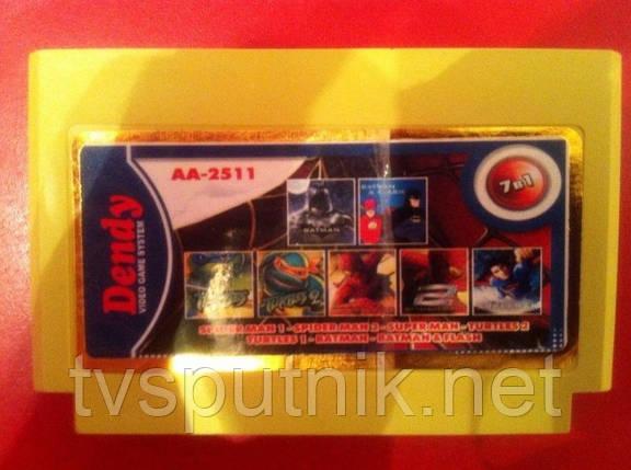 Картридж Dendy Сборник игр AA-2511, фото 2