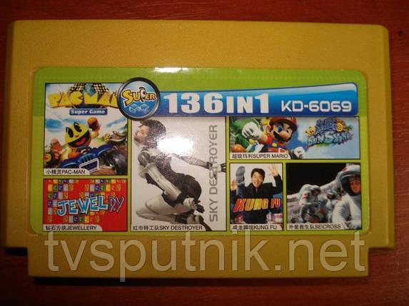 Картридж Dendy Сборник игр KD-6069, фото 2