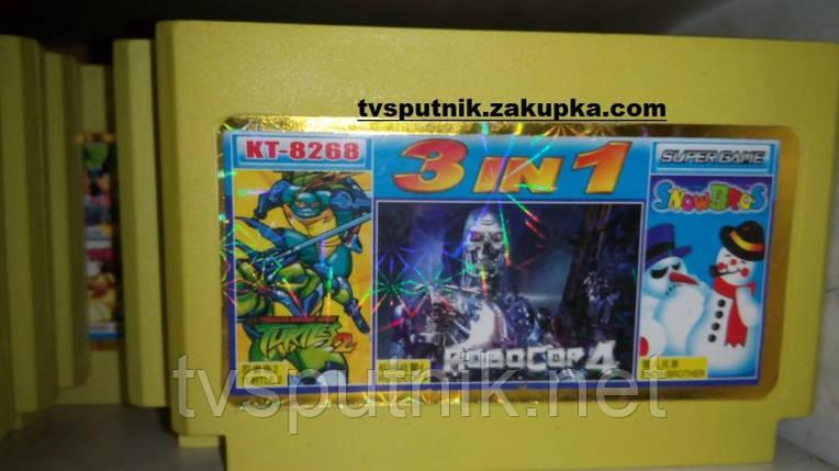 Картридж Dendy Сборник игр KT-8268, фото 2