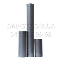 Труба для дымохода ф250 1м из нержавеющей стали