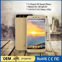 4G LTE 5.25inch смартфон Android 6.0 сверхтонкий. Китай низкая цена мобильного