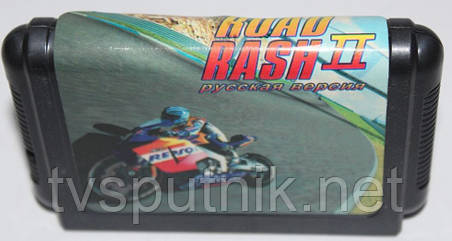 Картридж Sega 16bit ROAD RASH II, фото 2